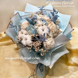 Everlasting flowers bouquet