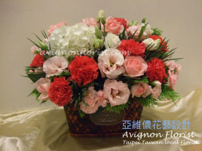 Appreciation Mother's Day flowers Taipei